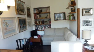Florence apartment - livingroom 2