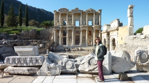 Library of Celsus (135 A.D.), Ephesus, Turkey