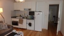 Kitchen space with washing machine