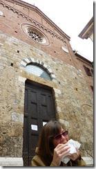 B lunch in Siena