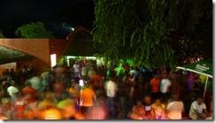The dance floor at Mountain Valley on Sunday's jazz nights.