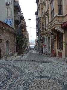 Beautiful old Istanbul sidestreet