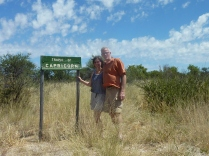 Tropic of Capricorn, Botswana