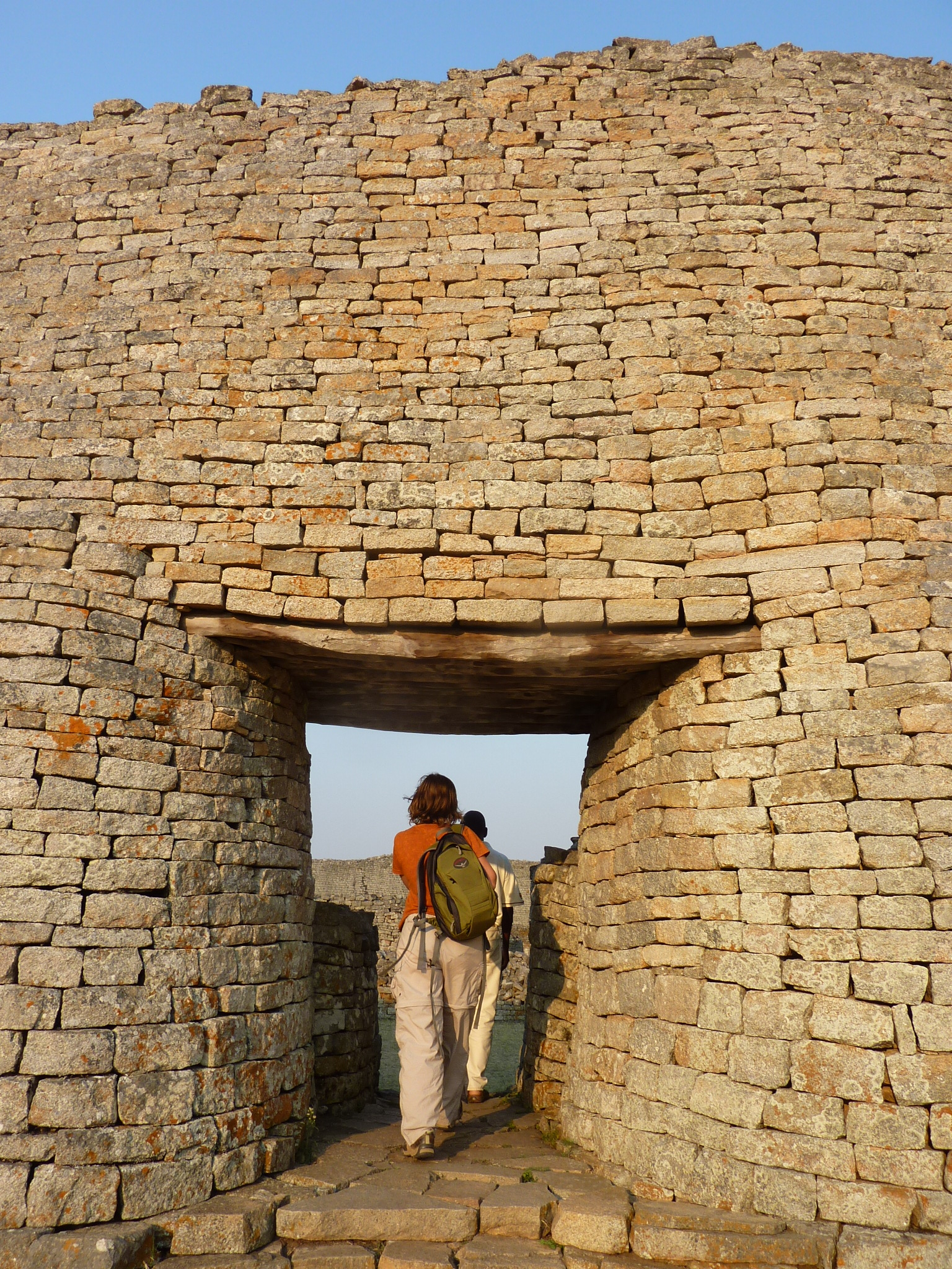 Great zimbabwe ruins place of the