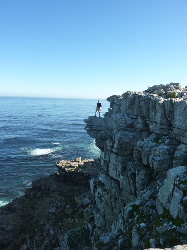 KC finding the *actual point* at the Cape of Good Hope