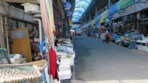 Open-air market in Mokpo