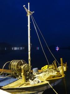 Fishing boat docked at Heuksan-Do harbor