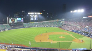 The Samsung Lions vs the LG Twins