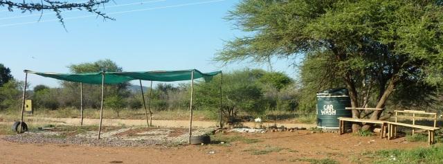 Car wash, Gaborone, Botswana